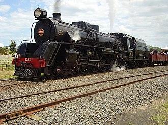 NZR JA class - JA 1250 Diana standing at Victoria Ave Station on the Glenbrook Vintage Railway