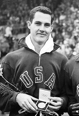Jack Davis (athlete) - Davis at the 1952 Olympics