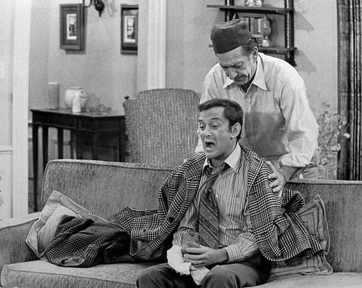 Jack Klugman Tony Randall The Odd Couple 1972