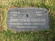 Jackie Coogan's grave