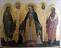 Jacobello del fiore, madonna della misericordia tra i ss. giovanni battista ed evangelista, 1400-30 ca..JPG