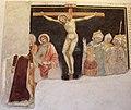 Jacopo di mino del pellicciaio, frammenti di crocifissione da s. francesco, 1350-90 ca..JPG