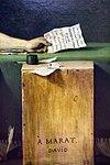 Jacques-louis david, la morte di marat, 1793, 04.jpg