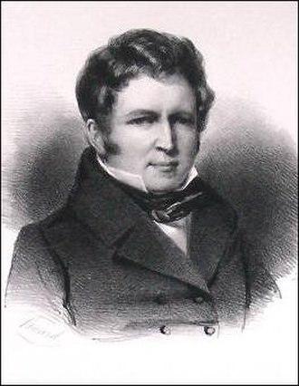 Iron Cross (Belgium) - Count Jacques-André Coghen, a recipient of the 1830 Iron Cross