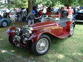Jaguar on Jaguar Ss100   Wikipedia  The Free Encyclopedia