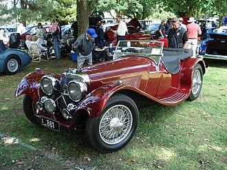 SS Jaguar 100 - 1939 SS Jaguar 100