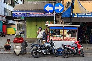 Murtabak - Martabak street vendor cart in Jakarta