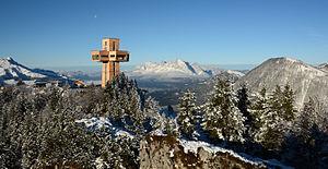 Summit cross - Image: Jakobskreuz tirol winter