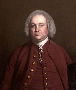 James Buller (1717-1765) - James Buller (1717-1765), portrait by Sir Joshua Reynolds (1723-1792), collection of trustees of Antony House, Cornwall