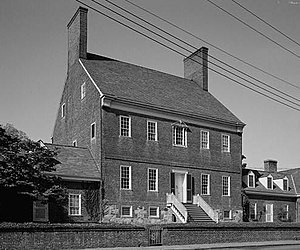 Brice House (Annapolis, Maryland) - Image: James Brice House, 42 East Street, Annapolis (Anne Arundel County, Maryland)