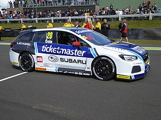 Team BMR - Image: James Cole 2017 BTCC Knockhill (Sunday, R1 grid)