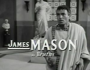 Julius Caesar (1953 film) - Image: James Mason in Julius Caesar trailer