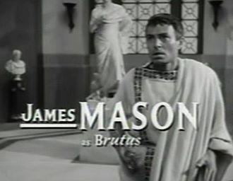 Julius Caesar (1953 film) - Image: James Mason in Julius Caesar trailer