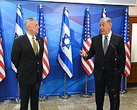 James Mattis with Benyamin Netanyahu in Israel 2017 (1a).jpg