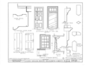 James Miller House, Pittsburgh vicinity, Library, Allegheny County, PA HABS PA,2-PITBU.V,1- (sheet 7 of 8).png