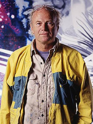 James Rosenquist - Photo by: Russ Blaise 1988