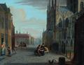 Jan Hendrik van Grootvelt - Gezicht vanuit de Choorstraat op het Zuiderportaal van de Sint-Janskathedraal.png
