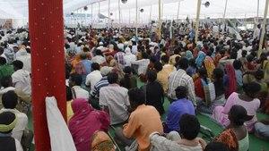 File:Jan Satyagraha 2012 meeting at Agra, Uttar Pradesh, India.ogv