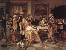 Jan Steen - The Bean Feast - WGA21734