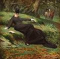 Jan Van Beers - Rendez-vous in the Bois de Boulogne.jpg
