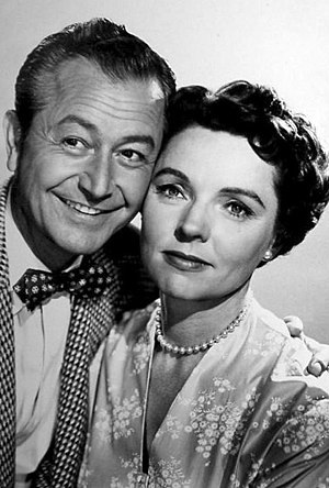 Father Knows Best - Robert Young and Jane Wyatt as Jim and Margaret Anderson.