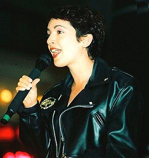 Jane Wiedlin - Jane Wiedlin in Philadelphia in 1988