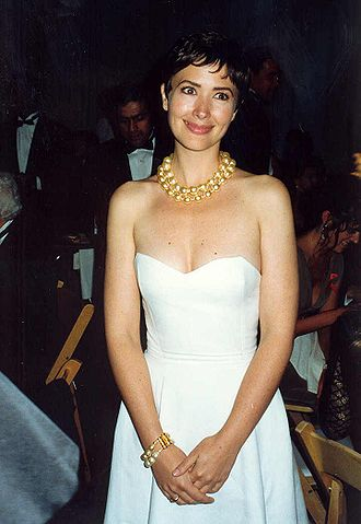Janine Turner - Janine Turner at the Governor's Ball after the 1992 Emmy Awards