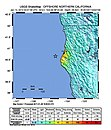 January 2010 Eureka earthquake intensity USGS.jpg