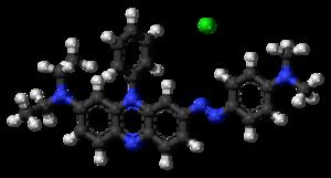 Janus Green B - Image: Janus Green B ions ball