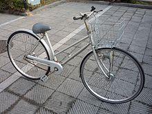 日本の シティサイクル