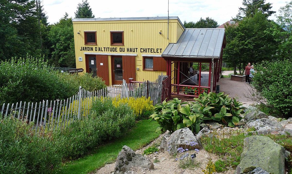 Jardin d 39 altitude du haut chitelet wikip dia for Atelier du jardin d acclimatation