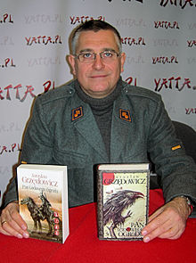 Writer in 2014 at Multigenre Fan Convention Pyrkon