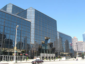 Eleventh Avenue (Manhattan) - The Jacob K. Javits Convention Center