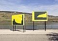 Jay Gard, Touristic Hint, Nah und Fern, Skulpturen-Triennale Bingen, 2017.jpg