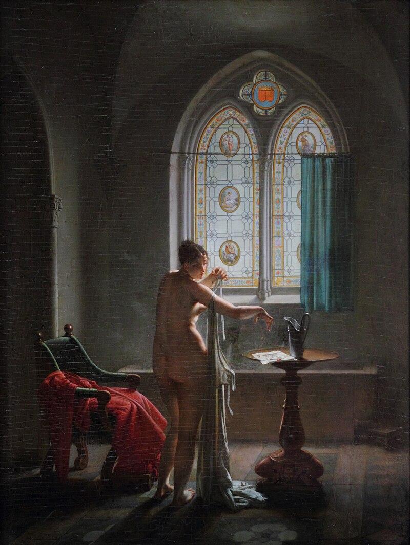 Le style troubadour en peinture galerie smaragdine for Jean philippe toussaint la salle de bain