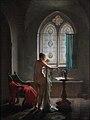 Jean-Baptiste Mallet - La Salle de bain gothique.jpg