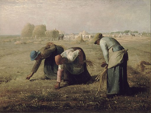Jean-François Millet - Gleaners - Google Art Project