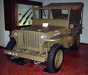 二戰時的吉普車
