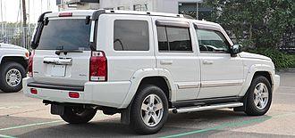 Jeep Commander (XK) - RHD Jeep Commander in Japan