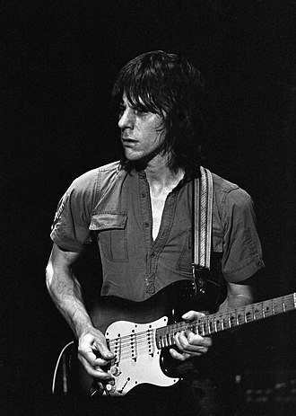 Jeff Beck - Beck performing in Amsterdam; 1979