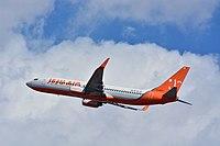 Jeju Air, Boeing 737-800 HL8295 NRT (24536186109).jpg