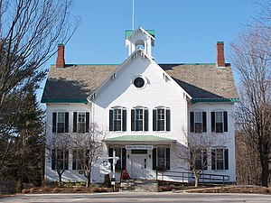 Jericho, Vermont - Town hall in Jericho, Vermont