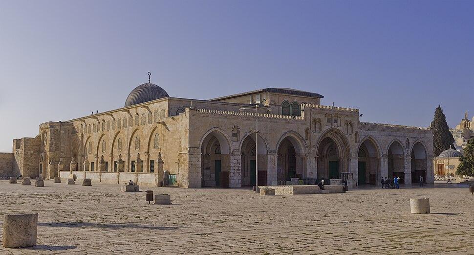 Jerusalem-2013-Temple Mount-Al-Aqsa Mosque (NE exposure)