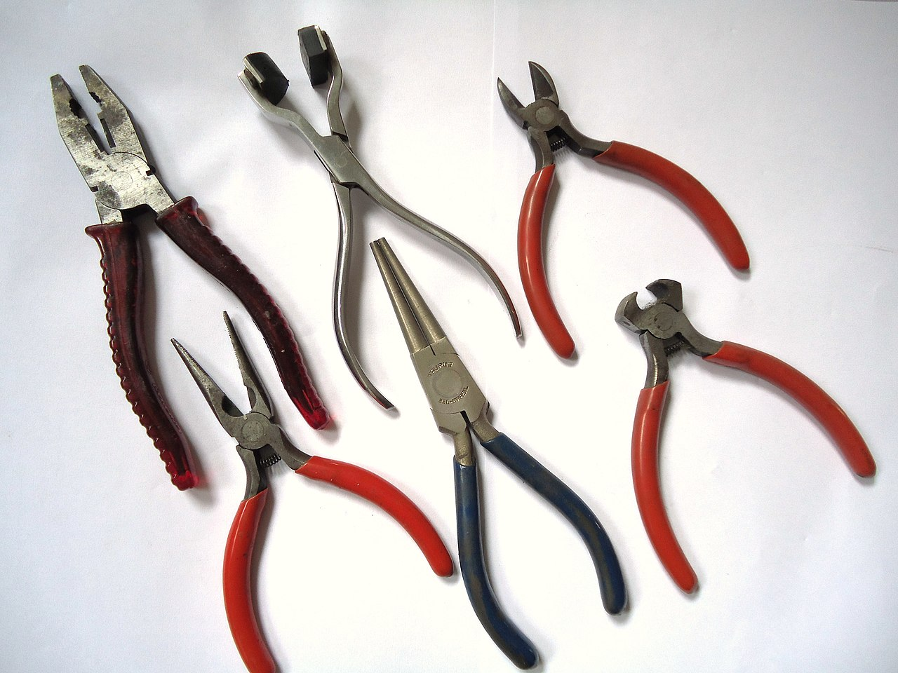 Types Of Jewelry Pliers