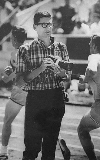 Jim Ryun - Ryun as a sports journalist in 1966