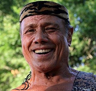 Jimmy Snuka Fijian professional wrestler