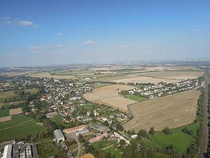 Jistebník - Air view
