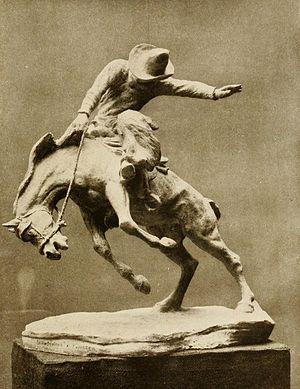 Jo Mora - Scratching A Twister, 1915