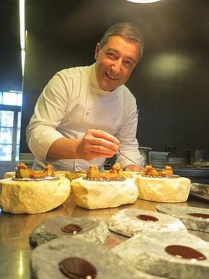 Joan Roca i Fontané - Joan Roca in the kitchen of El Celler de Can Roca