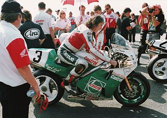 Joey Dunlop - Senior TT in 1992.
